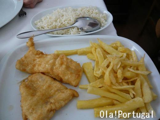 ポルトガル料理:Filete do Pescada