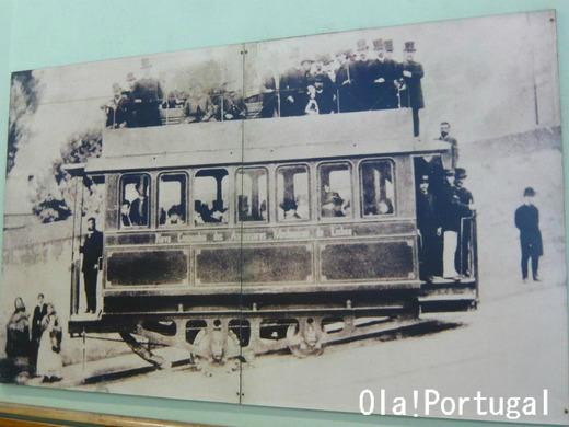 リスボンのケーブルカー昔の写真