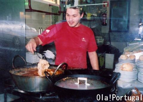 ポルトガル料理:ビッファーナ