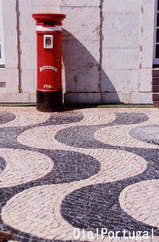ポルトガルの石畳:Calcada Portuguesa カルサーダ・ポルトゲーザ