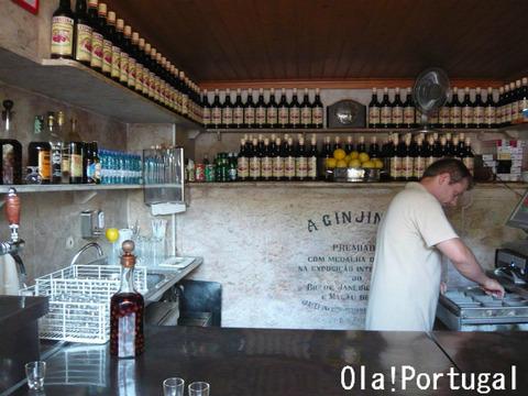 リスボンの立ち飲み屋