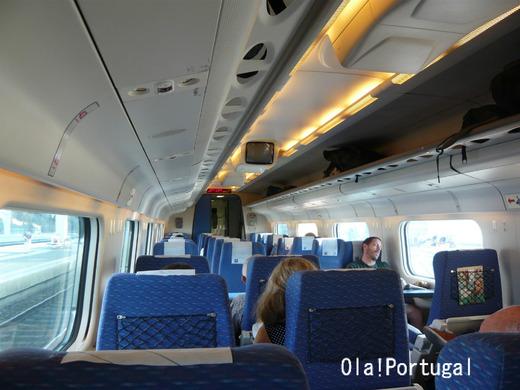 ポルトガル鉄道CPの特急Alfa Pendular アルファ・ペンドゥラール