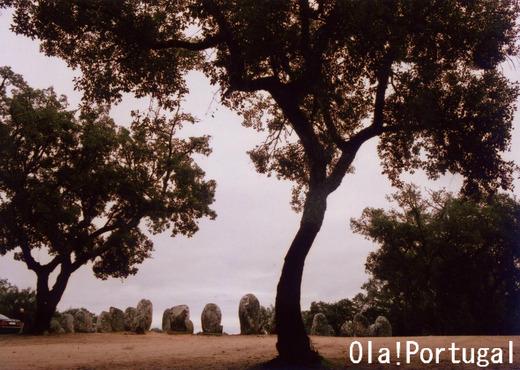 ポルトガル旅行記:エヴォラの環状列石