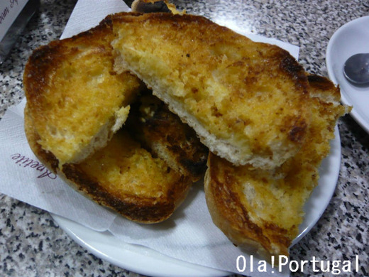 ポルトガルの朝食:Torrada トラーダ