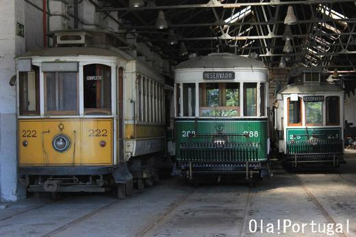 ポルトガル旅行記:ポルトの路面電車博物館