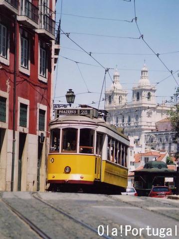 世界の車窓から:リスボン市電