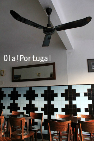 ポルトガルのカフェ