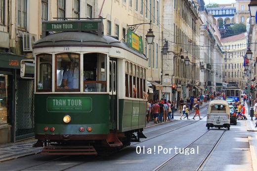 ポルトガル・リスボンの路面電車