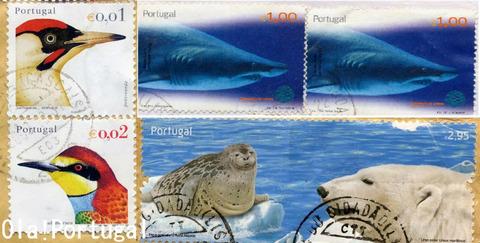 ポルトガルの切手(動物)