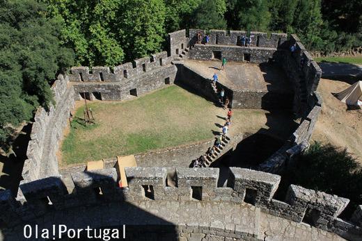 15世紀に建てられたサンタ・マリア・ダ・フェイラ城