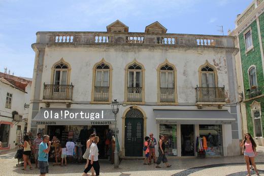 ポルトガルのビーチリゾート、ぶらり街歩き