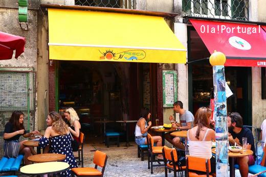 ポルトガル旅行記:リスボンの美味しいレストラン