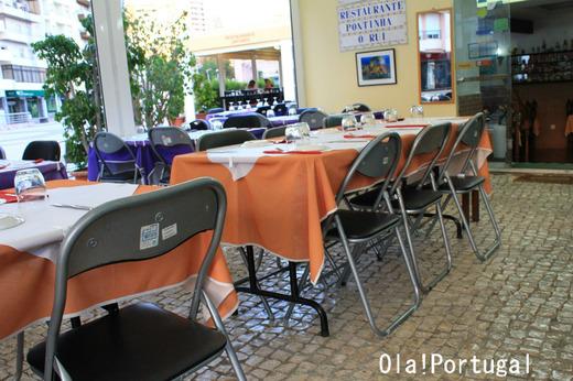 ポルトガル旅行記:アルガルヴェ地方ファーロの美味しいレストラン