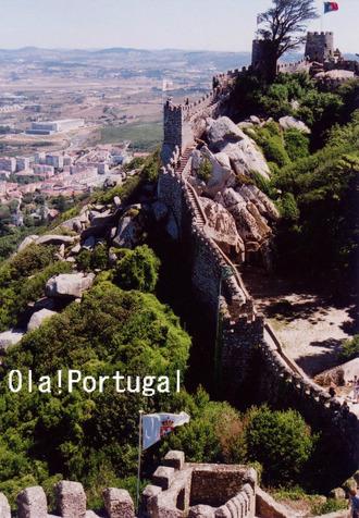 ロケみつ・ヨーロッパ横断ブログ旅:ムーアの城跡