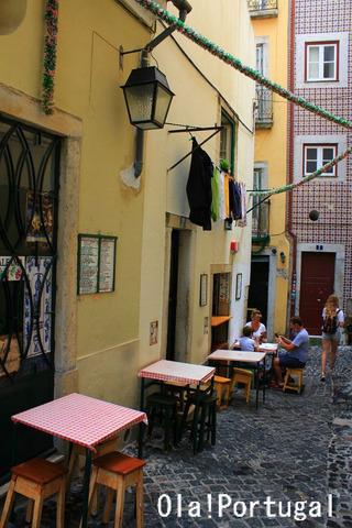 リスボン旅行記:アルファマぶらり街歩き