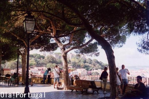 ポルトガル旅行記:リスボン(グラサ展望台)
