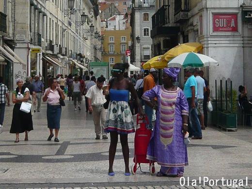 「寛容の都市」を標ぼうし、アフリカ等からの多くの移民が暮らす