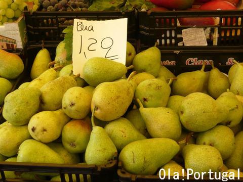 ポルトガルの果物:Pera ペラ(洋なし)