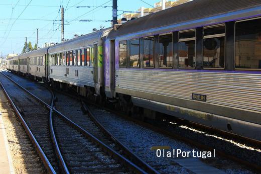 ポルトガル・ローカル列車の旅:アルガルヴェ線ファーロ駅