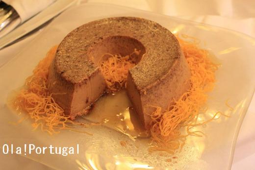 ポルトガル料理(デザート):Pudim Abade de Priscos (プリン)