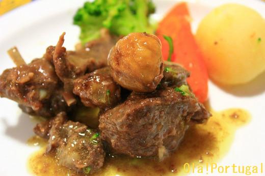 ポルトガル料理:Braganca ブラガンサのうまいもの