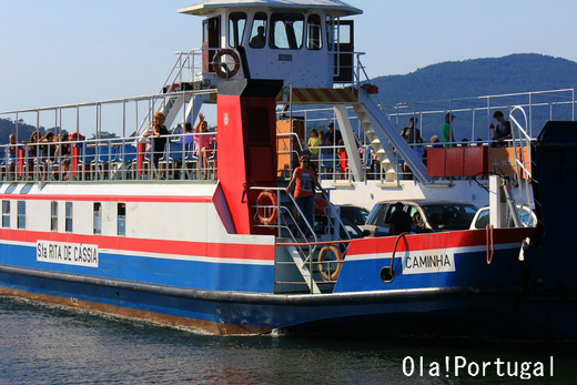 スペイン、ポルトガルの船での国境超え