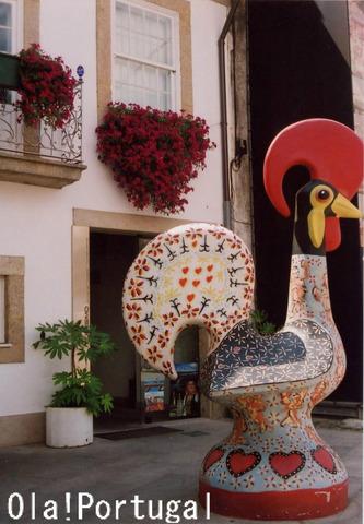ポルトガル土産:幸運のシンボル、ガロ