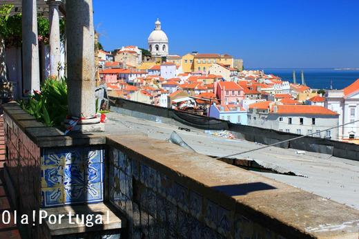 ポルトガル旅行記:リスボン(アルファマ)