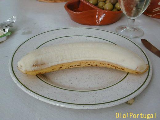 ポルトガルの果物:Banana バナーナ(バナナ)