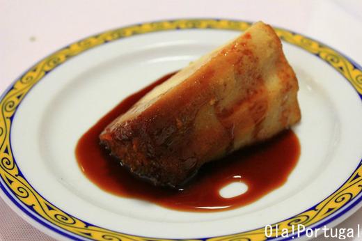 ポルトガル料理のデザート:Pudim de Castanhas