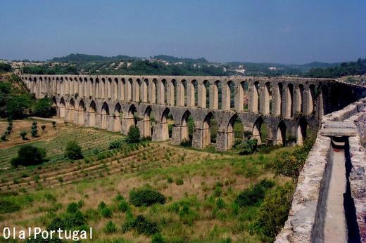 ポルトガルの水道橋:Tomar トマール
