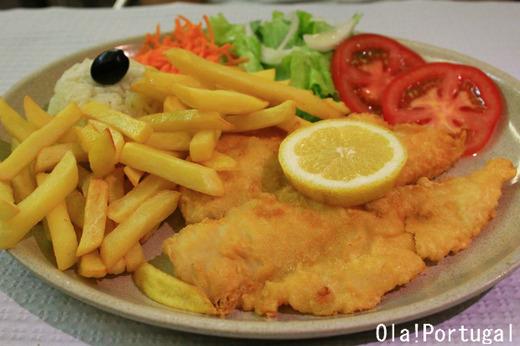 ポルトガル料理:Filetes de Pescada