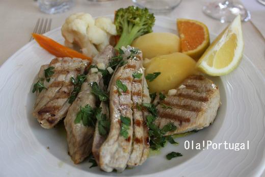 ポルトガル料理:Atum Grelhada アトゥーム・グリリャーダ