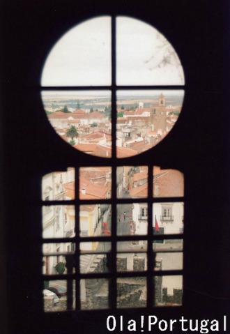 Torre de Menagem メナジェムの塔からの眺め