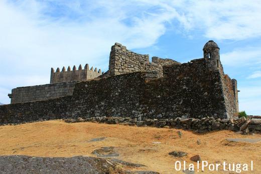 ポルトガル古城巡り:Castelo do Lindoso リンドーゾ城