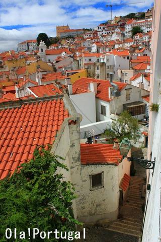 ポルトガル旅行記:リスボン・アルファマ地区