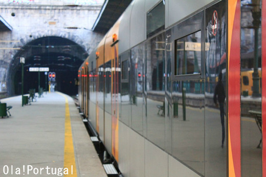 ポルトガル鉄道の旅:ミーニョ線(ポルト~ヴァレンサ)