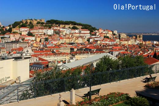 リスボン旅行記:「消臭力」の丘