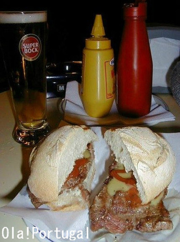ポルトガル牛肉バーガー:プレーゴ Prego