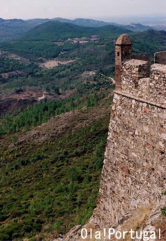 スペイン国境近くの城塞都市マルヴァオン
