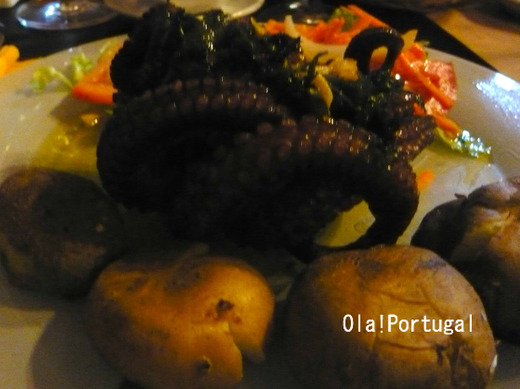 ポルトガル料理:Porvo a lagareiro