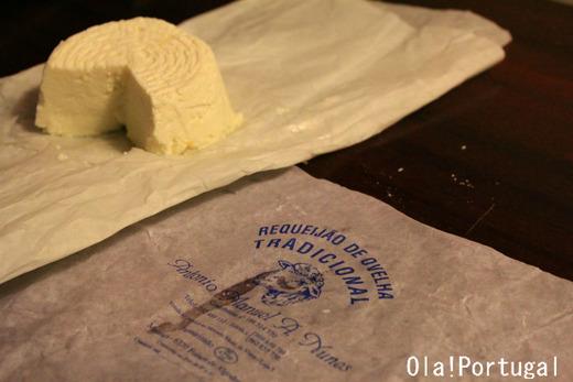 ポルトガルのフレッシュチーズ:リケイジャオン
