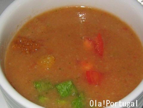 ポルトガル料理:ガスパチョ Gaspacho