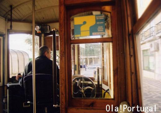 ポルトガル旅行記:リスボン路面電車(運転台)