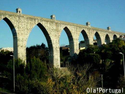 ポルトガルの水道橋:Lisboa リスボン