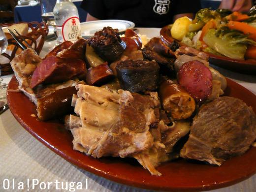 ポルトガル料理:Cozido a Portuguesa コジード・ア・ポルトゲーザ