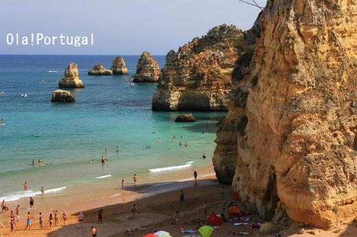 世界で最も美しい50のビーチ:プライア・ドナ・アナ(ラゴス)