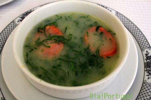ポルトガル料理:Caldo Verde カルド・ヴェルデ
