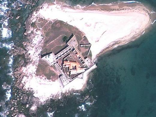 ポルトガル城跡巡り:フォルテ・ダ・インスア(カミーニャ)