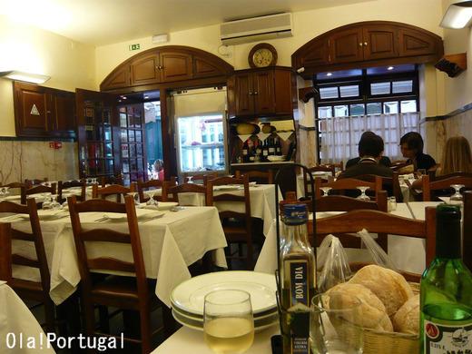 リスボン:バイシャ地区のレストラン